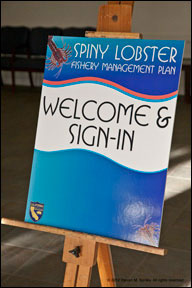 welcome sign, copyright Steve Barsky